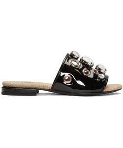 Toga Pulla | Embellished Slide Sandals