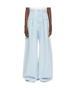 Martine Rose   Fold Wide-Leg Jeans