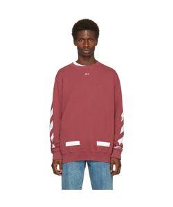 Off-White   Diagonal Arrows Crewneck Sweatshirt