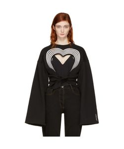 Y / Project | Heart Cut-Out Sweatshirt