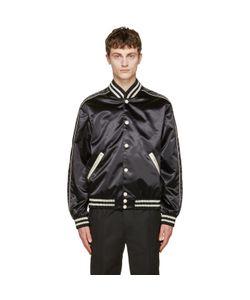 Calvin Klein Collection | Satin Rankin Bomber Jacket
