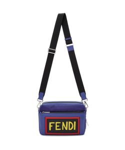 Fendi | Nylon And Leather Logo Camera Bag