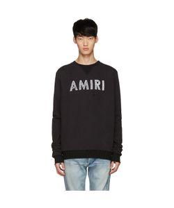 Amiri | Distressed Logo Pullover