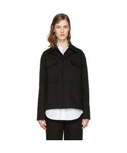 Studio Nicholson   Twill Nero Jacket