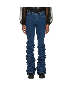 Y-Project | Extra Long Fold Jeans