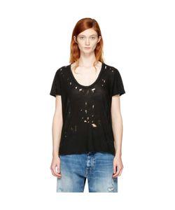 Unravel | Distressed Basic T-Shirt