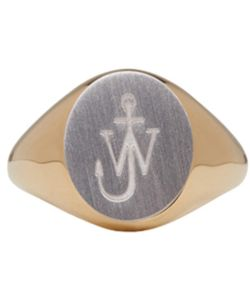 J.W.Anderson | And Logo Signet Ring