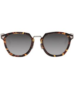 Dior Homme | Tortoiseshell Dior Tailoring 1 Sunglasses