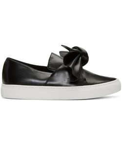 Cédric Charlier | Bow Slip-On Sneakers