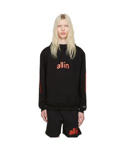 all in | Champion Edition Logo Hoodie