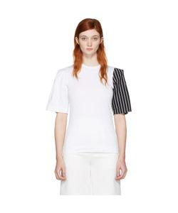Facetasm | Exclusive Striped Sleeve T-Shirt