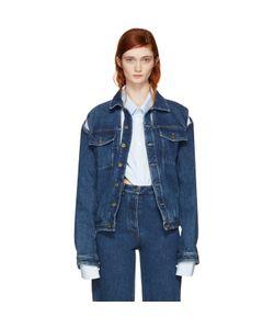 Y-Project | Denim Cut-Out Jacket