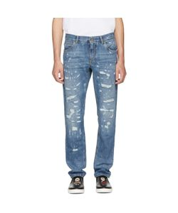 Dolce & Gabbana | Classic Distressed Jeans