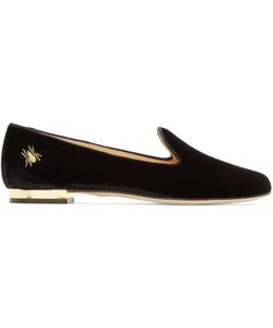 Charlotte Olympia | Velvet Nocturnal Loafers