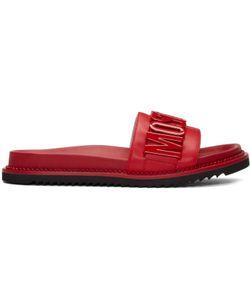 Moschino | Logo Slide Sandals