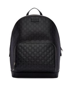 Gucci | Leather Signature Backpack