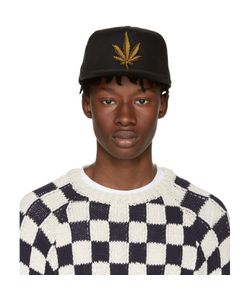 Palm Angels | Embroidered Weed Cap