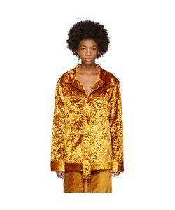 Eckhaus Latta | Velvet Oversized Jacket