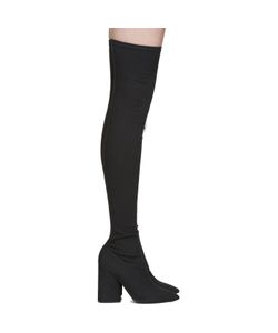 Yeezy | Canvas Thigh-High Boots