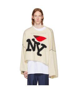 Raf Simons | Oversized I Love Ny Sweater