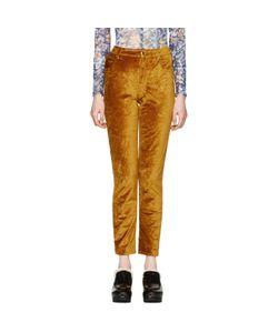 Eckhaus Latta | Velvet Trousers