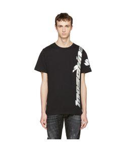 Moschino | Iridescent Lotus Logo T-Shirt