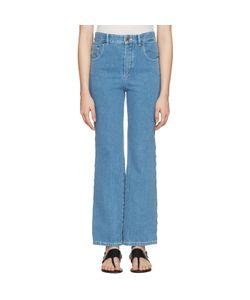 Chloé | Scalloped Fla Jeans