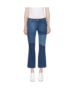 Alexander McQueen | Flared Patchwork Jeans