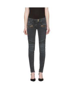 Balmain | Distressed Biker Jeans