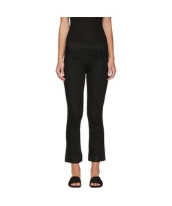 Helmut Lang | Pull-On Crop Flare Trousers