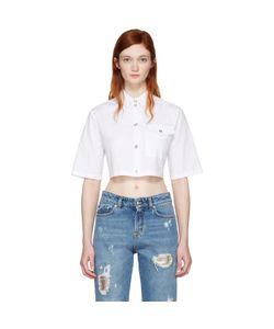 Versus | Cropped Poplin Shirt