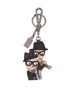 Dolce & Gabbana   Dolce And Gabbana Leather Family Keychain