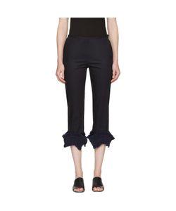 Ovelia Transtoto | Frill Detail Jeans