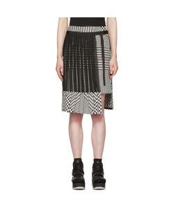 Sacai | And Check Pleated Skirt