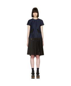 Sacai | Pleated Toggle Dress