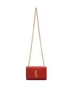 Saint Laurent   Small Deconstructed Monogram Kate Chain Wallet Bag