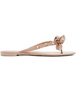 Valentino   Rockstud Beach Sandals