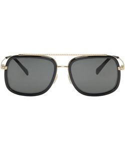 Versace | Pop Chic Greca Aviator Sunglasses