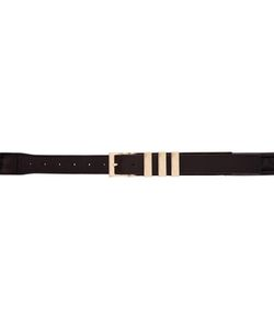 Balmain | Quilted Leather Belt