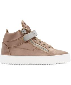 Giuseppe Zanotti | Exclusive Satin May London High-Top Sneakers