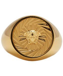 Versace | Round Medusa Ring