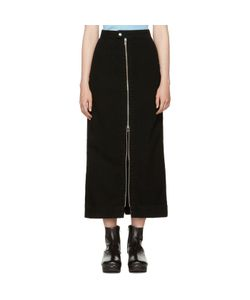 Eckhaus Latta | Denim Zip Front Skirt
