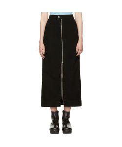 Eckhaus Latta | Denim Zip Front Skirt