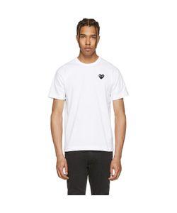Comme Des Garçons Play   And Heart Patch T-Shirt