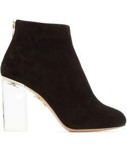 Charlotte Olympia | Suede Alba Boots