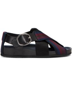 Paul Smith | Dark Striped Ray Sandals