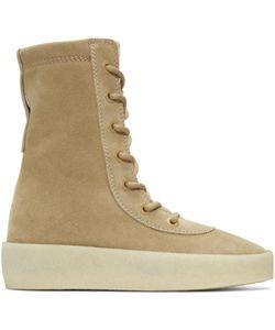 Yeezy | Suede Crepe Boots