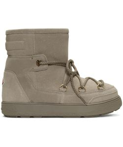 Moncler | Shearling Fanny Ankle Boots