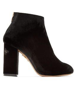 Charlotte Olympia | Velvet Alba Boots