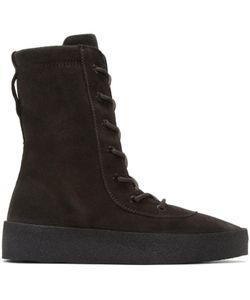 Yeezy | Crepe Boots